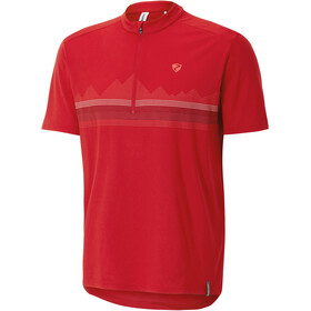 Ziener Cabuto Bike Jersey Shortsleeve Men red